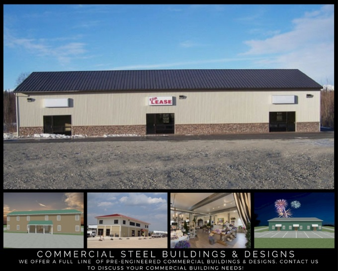 Commercial Steel Buildings & Designs